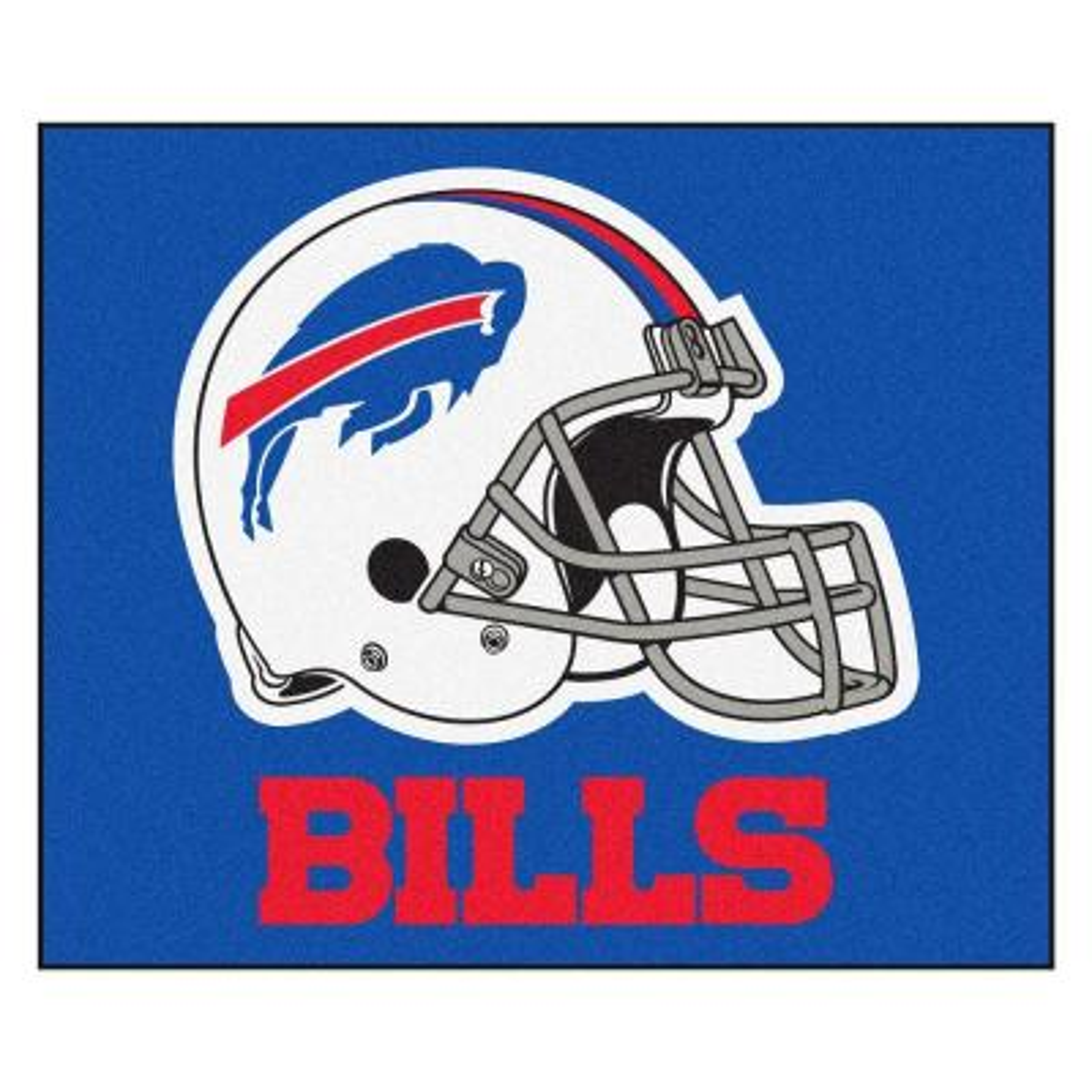 Buffalo Bills 5 ft. x 6 ft. Tailgater Rug