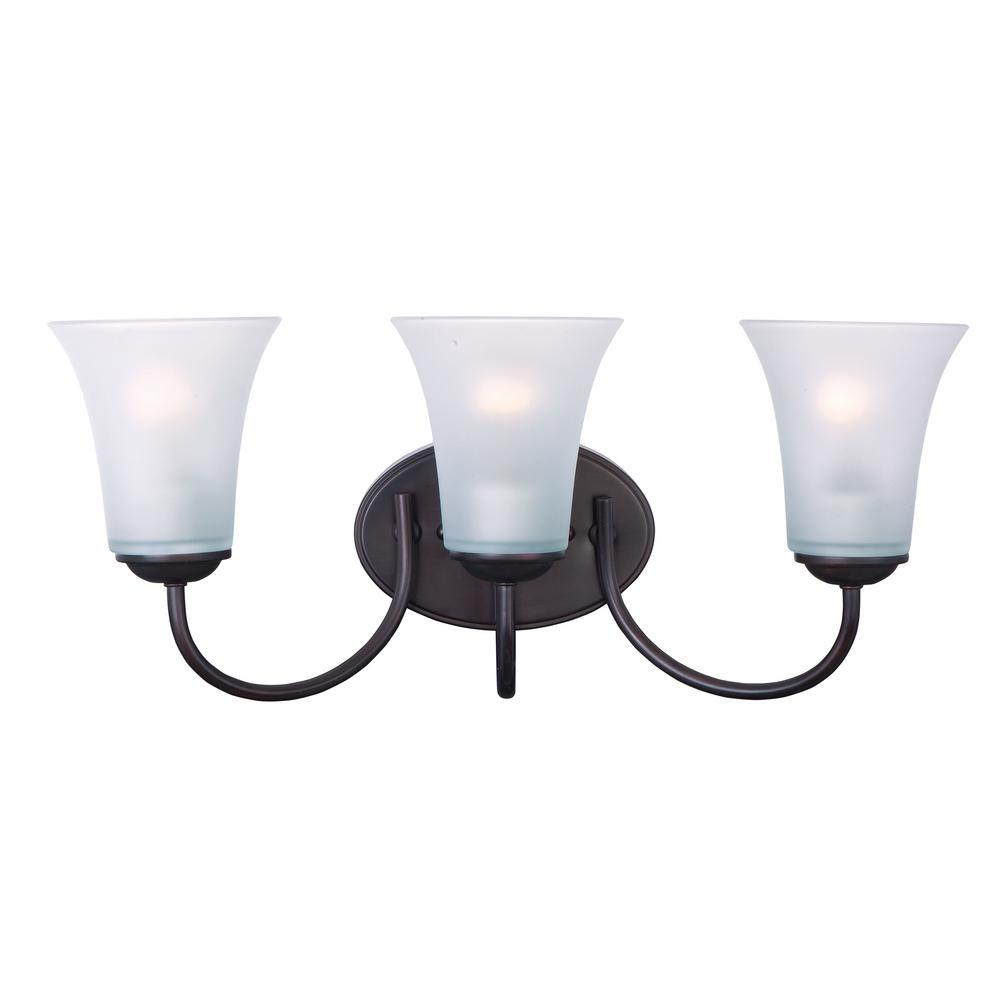 Logan 3 Light Oil Rubbed Bronze Bath Progress Lighting Inspiration Collection Antique