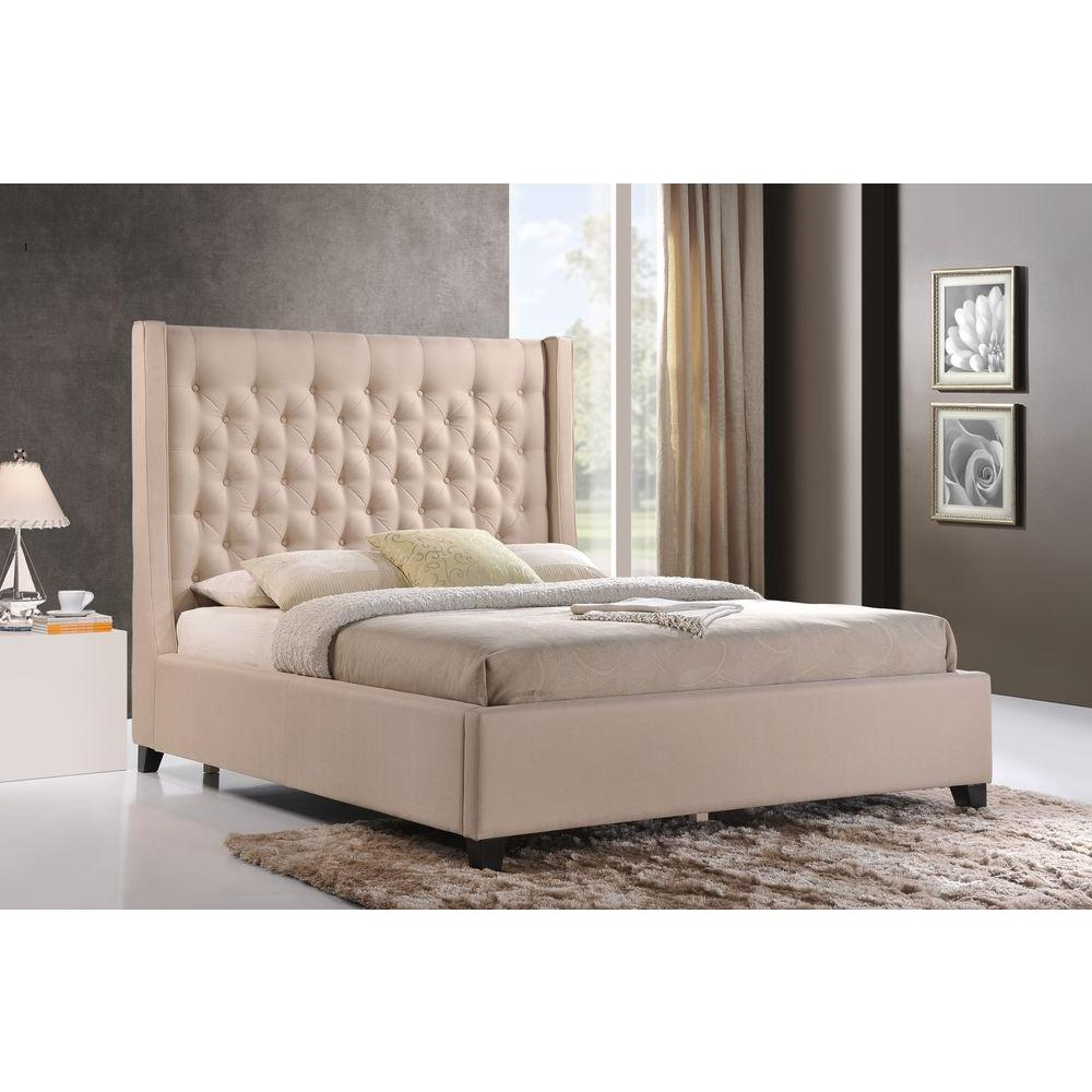 Bedroom With Tufted Bed