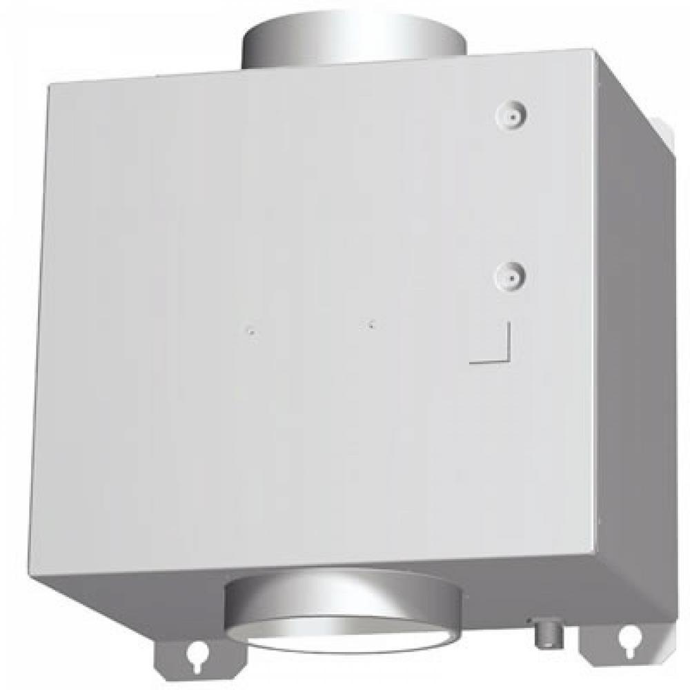 600 CFM Flexible Integral Blower for Bosch Downdraft Ventilation Systems, Silver