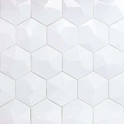 White 5x10 Ceramic Tile