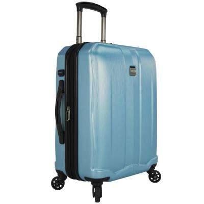 Piazza 22 in. Expandable Smart Spinner Luggage, Teal