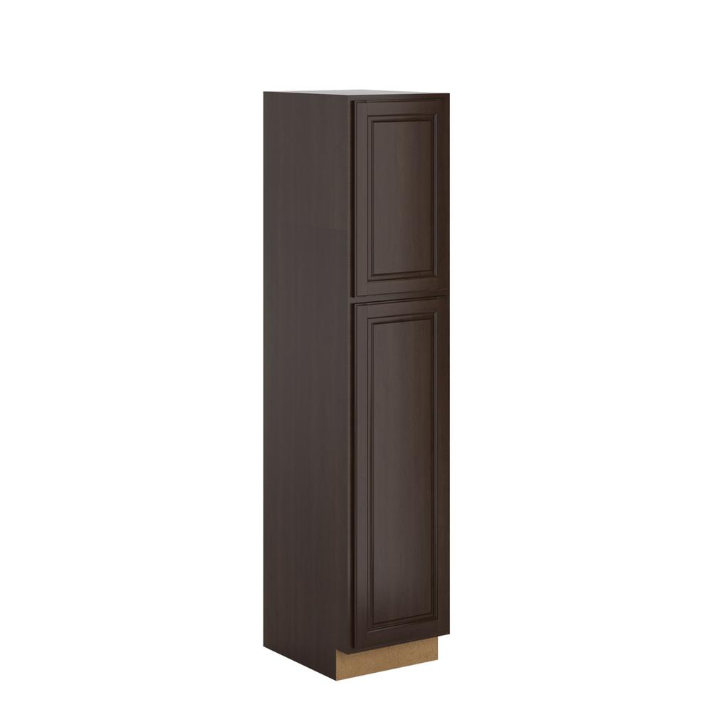 Madison Assembled 18 x 84 x 24 in. Pantry/Utility in Java