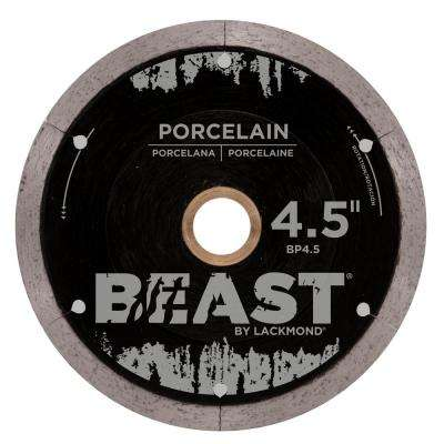 4.5 in. Beast Pro Series Wet Porcelain Blade