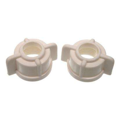 1/2 in. Faucet Tailpiece Nuts (2-Pack)