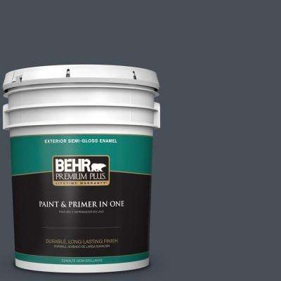 5 gal. #PPU25-22 Chimney Semi-Gloss Enamel Exterior Paint