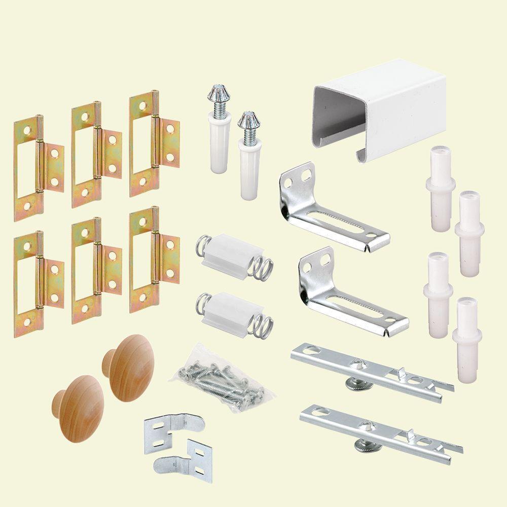 72 in. Bi-Fold Closet Door Track Kit