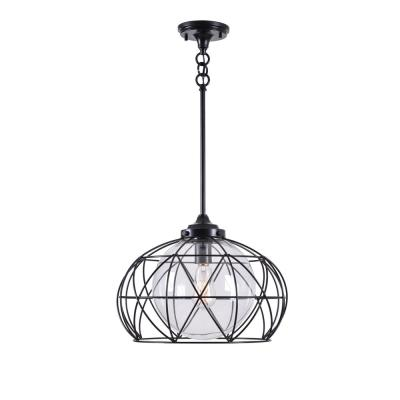 Cavea 1-Light Oil Rubbed Bronze Pendant