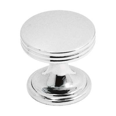 American Diner Collection 1 in. Dia Chrome Finish Cabinet Door and Drawer Knob (10-Pack)