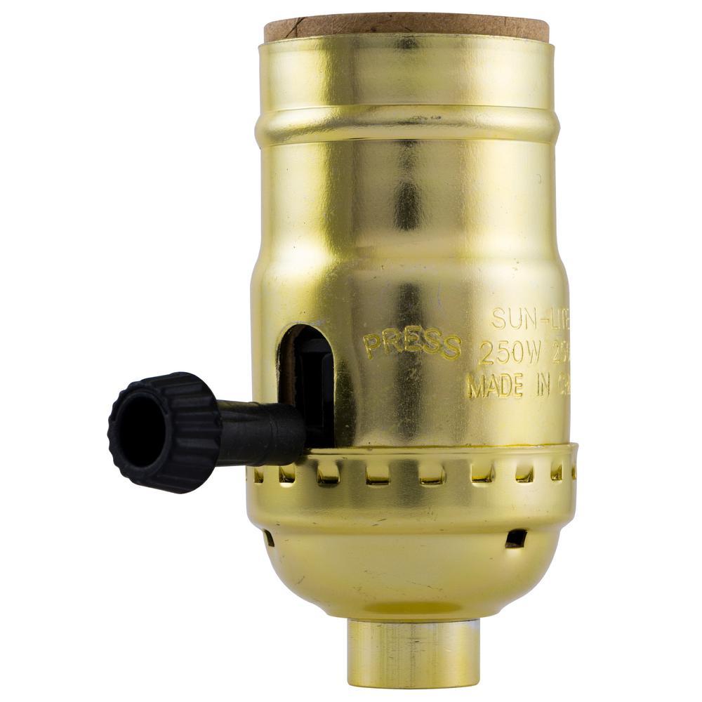 Ge 3 Way Lamp Socket 54372 The Home Depot