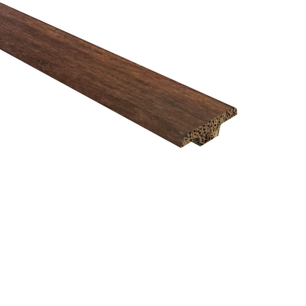 T Moulding Bamboo Wood Floor Trim Hardwood Flooring The Home Depot
