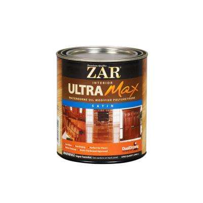 1 qt. Satin Ultra Max Oil Modified Polyurethane (2-Pack)