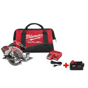 Milwaukee M18 FUEL 18-Volt Cordless Lithium-Ion Brushless 7-1/4 inch Circular... by Milwaukee