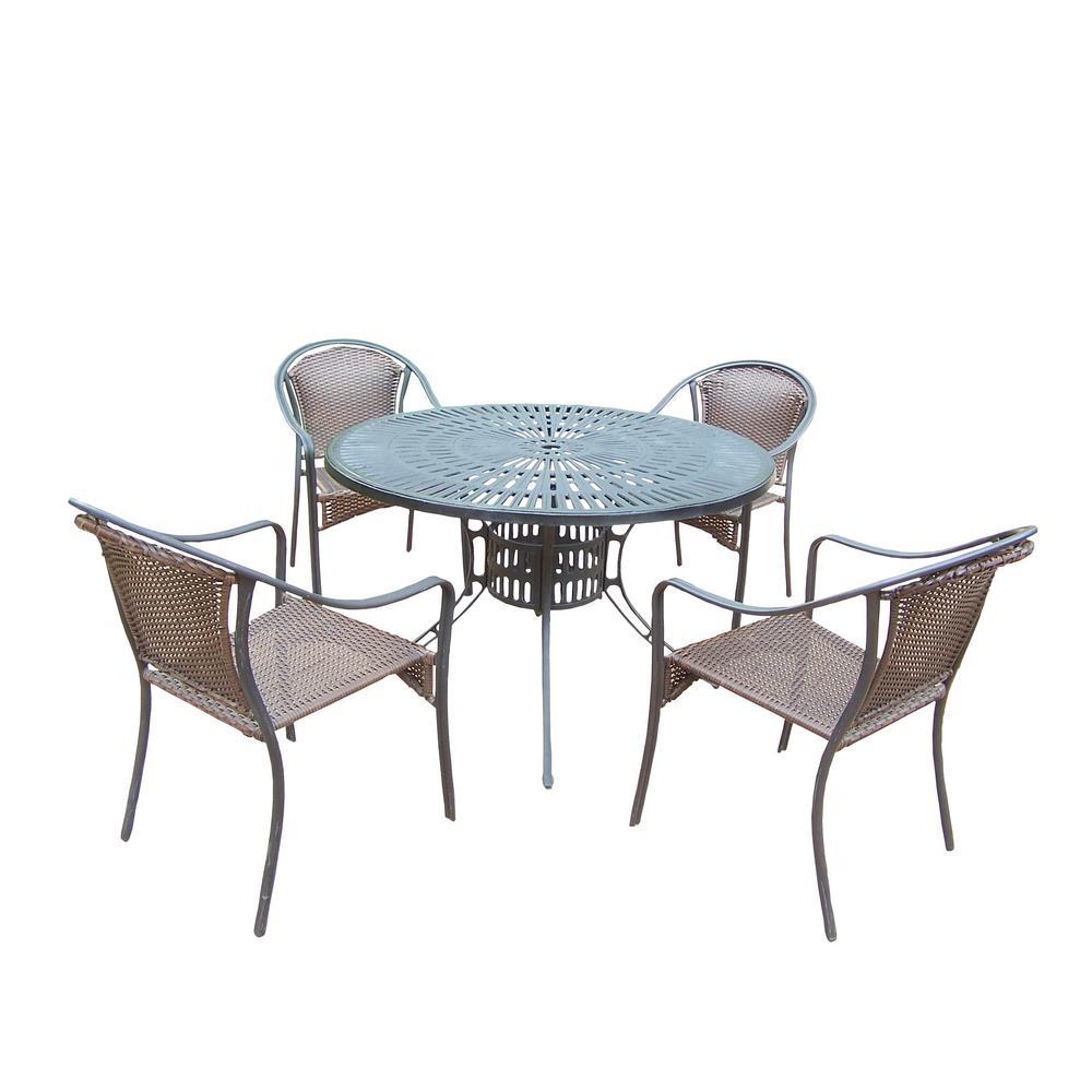 Click here to buy  Sunray Tuscany 7-Piece Aluminum Outdoor Dining Set.