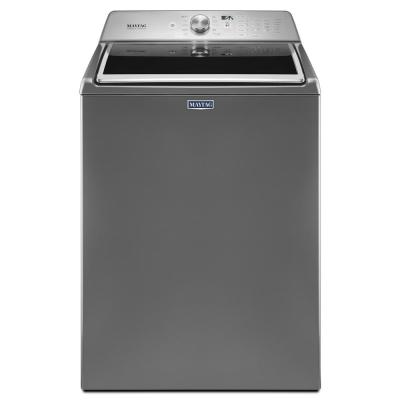 Maytag 4.7 cu. ft. High-Efficiency Metallic Slate Top Load Washer