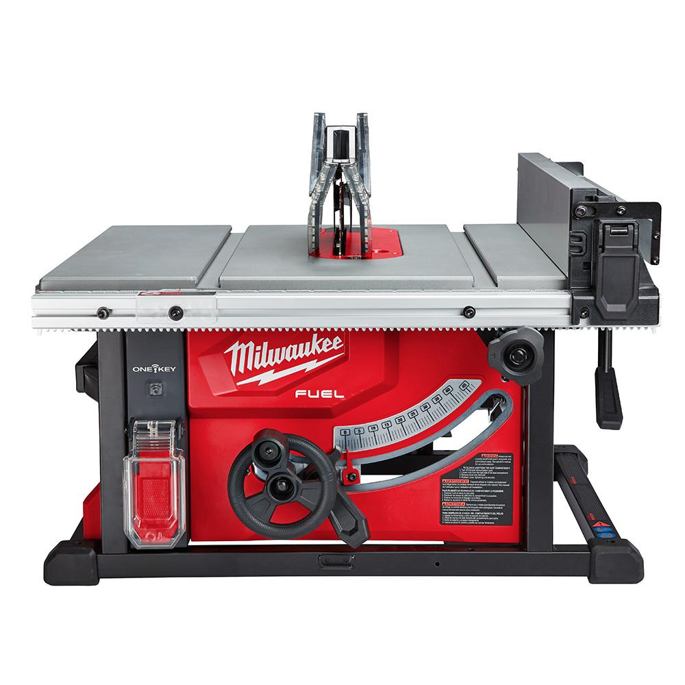 Milwaukee M18 FUEL ONE-KEY 18-Volt Lithium-Ion Brushless Cordless 8-1/4 in. Table Saw (Tool-Only)