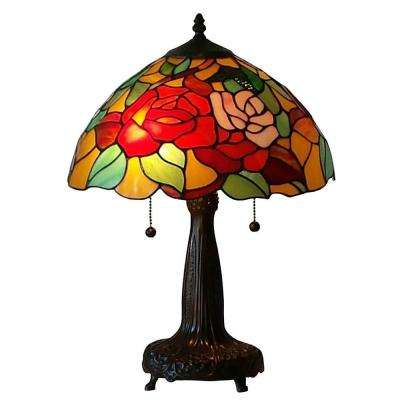 20 in. Tiffany Style Floral Table Lamp