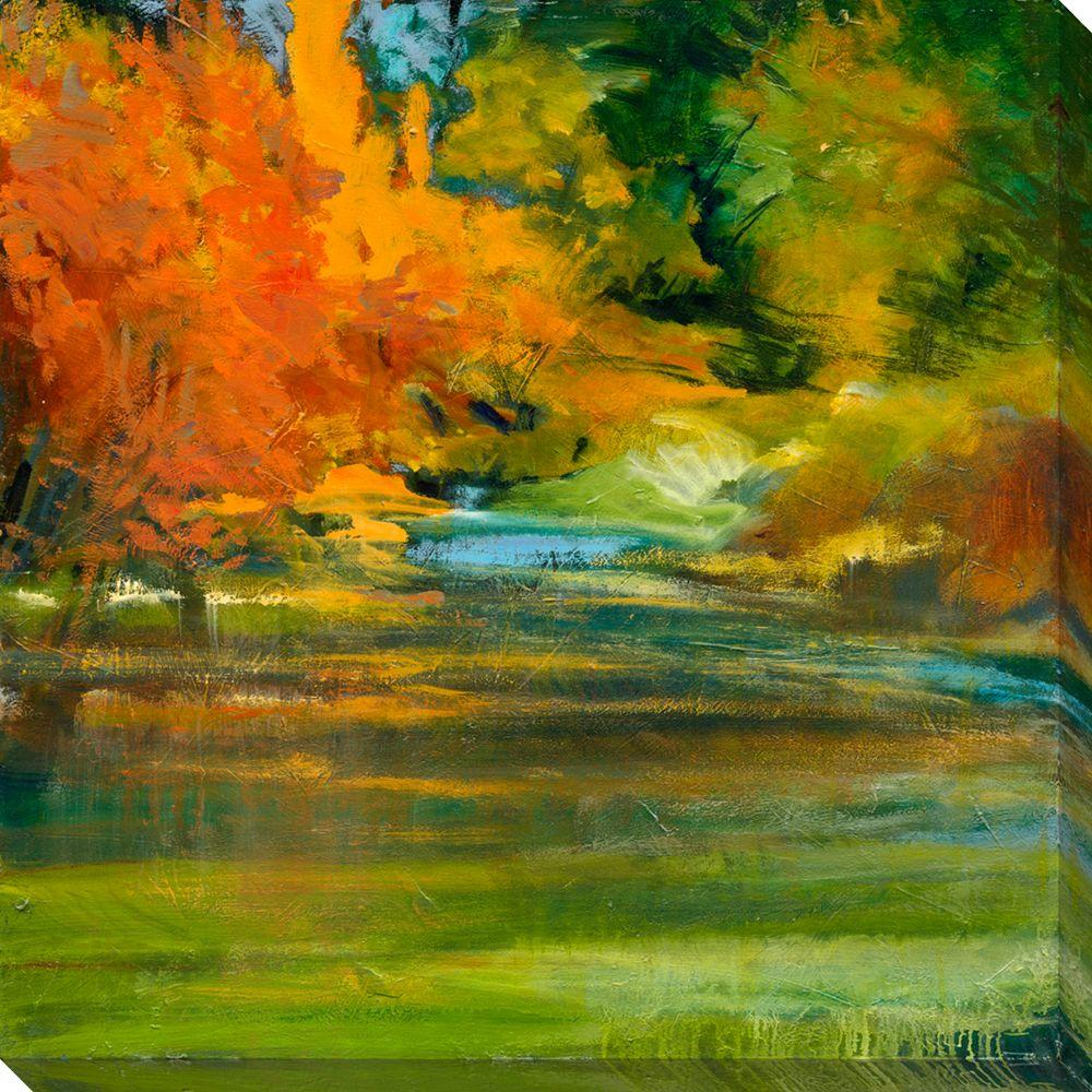 null 40 in x 40 in Late Summer's Expectation II Oversized Canvas Gallery Wrap