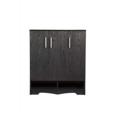 Niomi Black Shoe Cabinet
