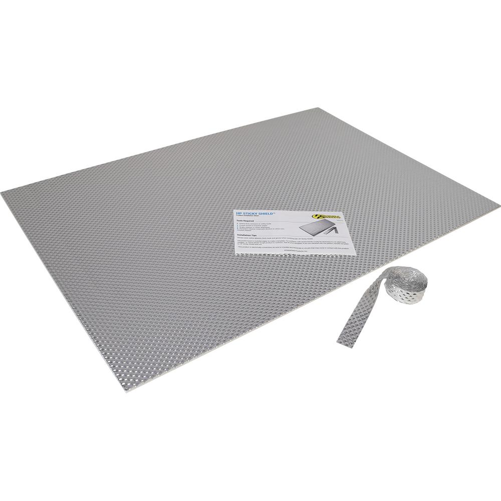 Heatshield Products Sticky Shield Kitchen Kit Stick On Heat Shield 23 In X 33 In Sheet Size Rated At 1100 F