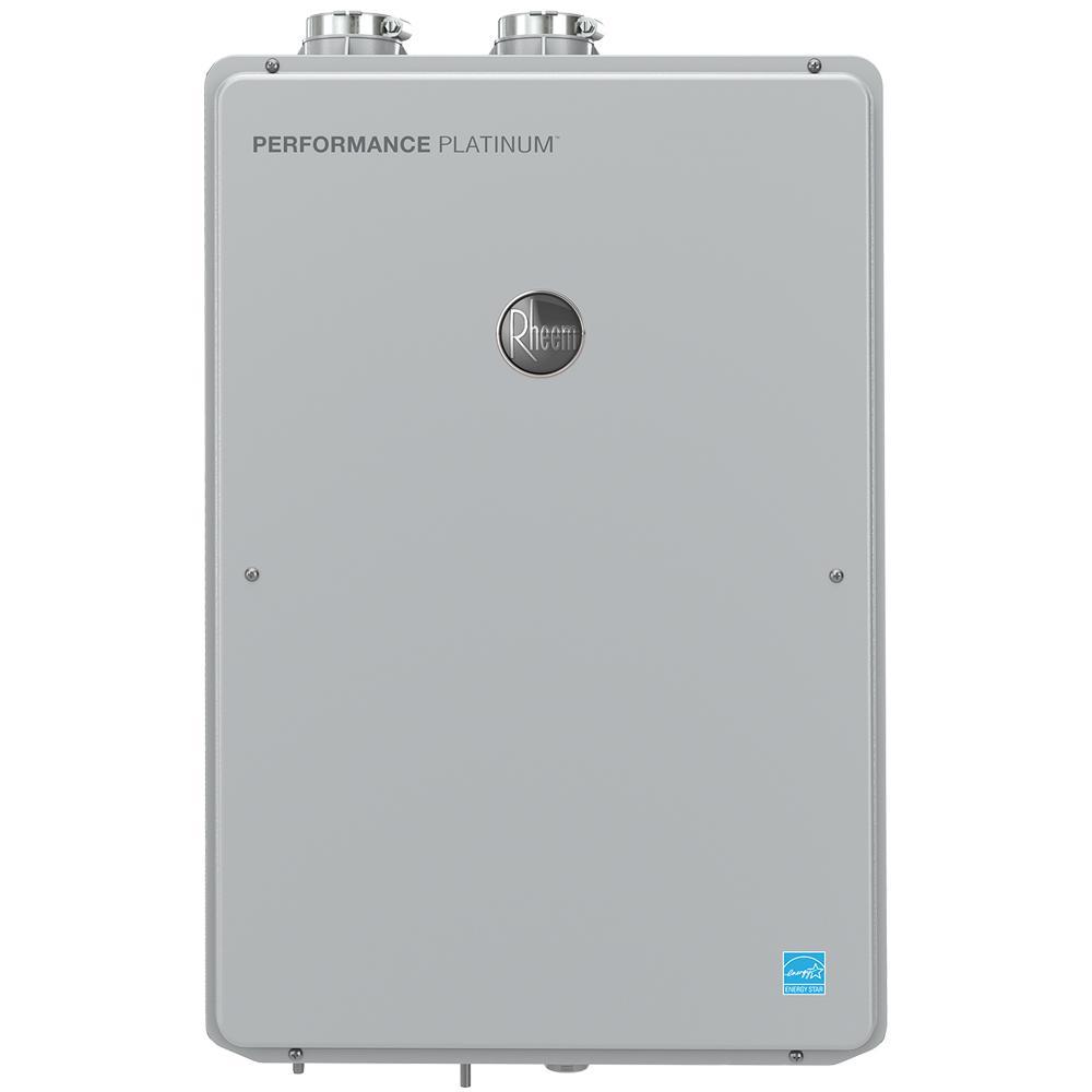 Performance Platinum 8.4 GPM Liquid Propane High Efficiency Indoor Tankless Water Heater