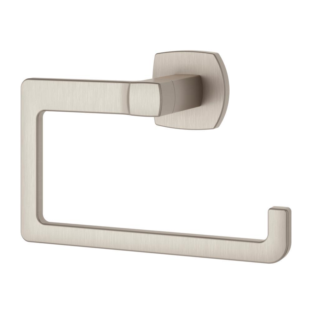 Deckard Towel Ring in Brushed Nickel