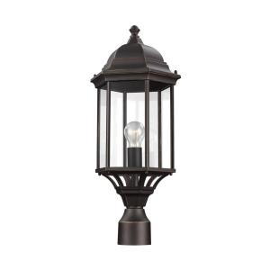 Sevier 1-Light Outdoor Antique Bronze Post Light