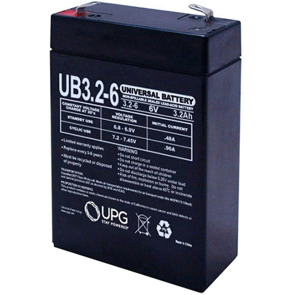 SLA 6-Volt F1 Terminal Battery