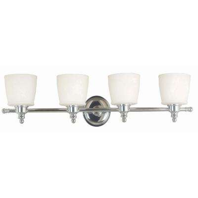 Riley 4-Light Chrome Wall Vanity