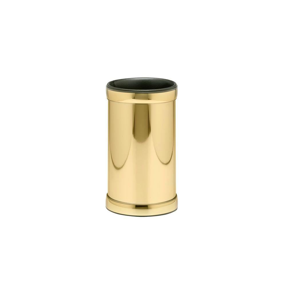 Kraftware Americano Polished Brass Deluxe Wine Chiller