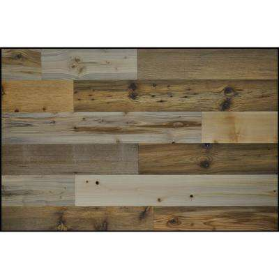 River Planks 4 in. Peel and Stick Wall Applique Panels (20 sq. ft./Box)