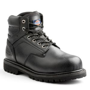8e5d123cec3dd Skechers Workshire Men Size 12 Black Leather Steel Toe Work Boot ...