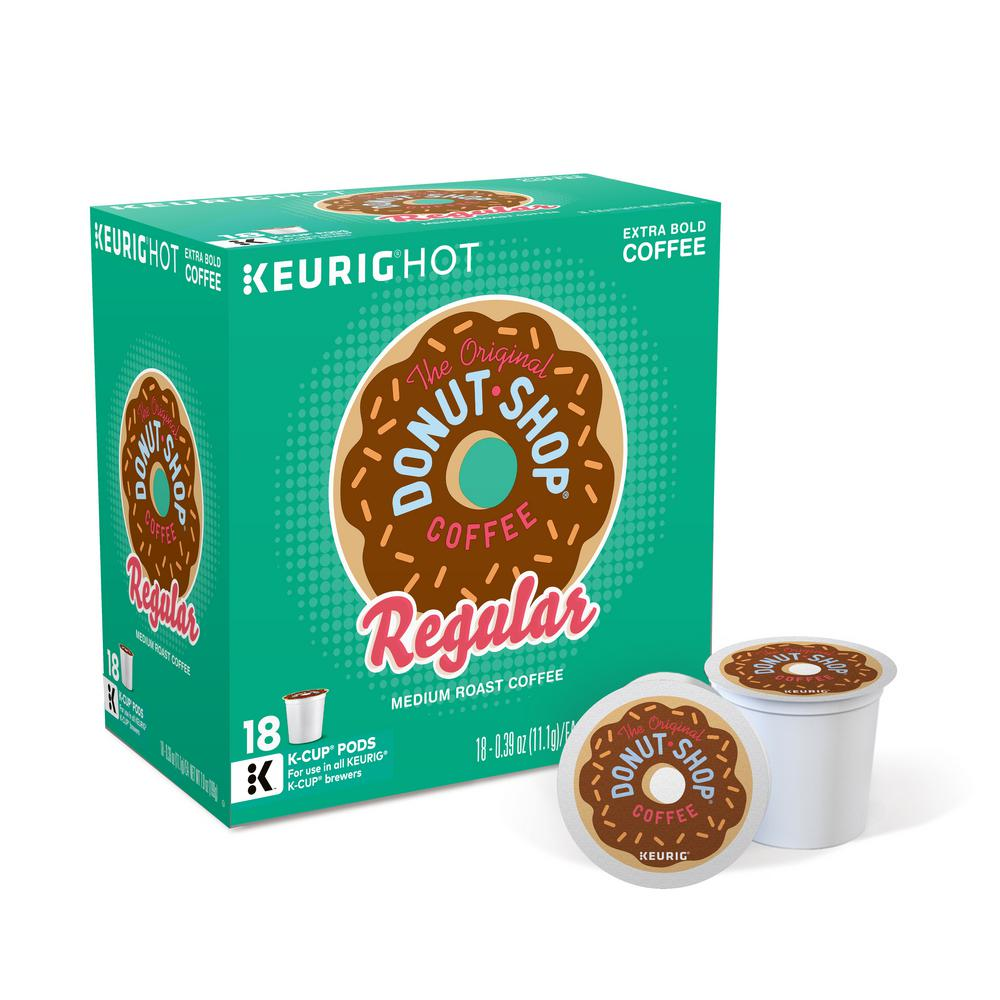 Keurig Kcup Pack The Original Donut Shop Coffee 108 Count