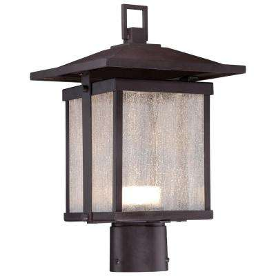 Hillsdale Outdoor Dorian Bronze Integrated LED Post Light