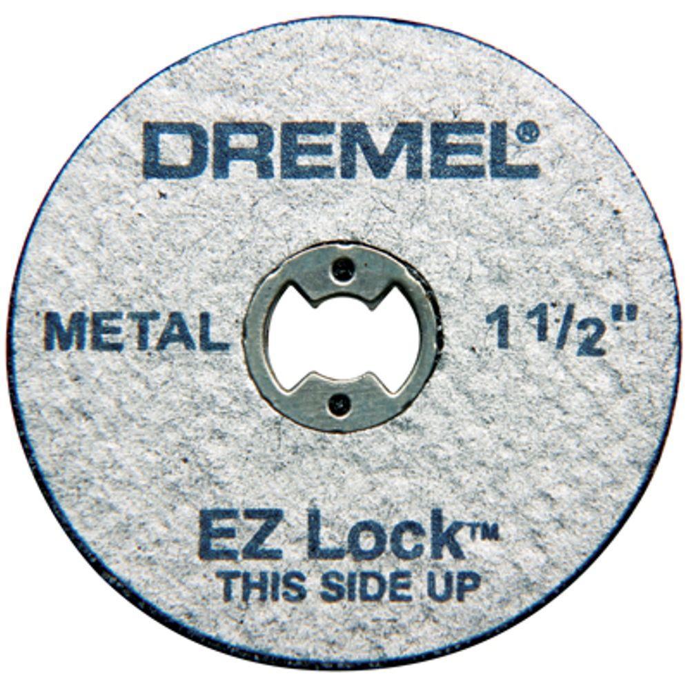 Dremel Dremel EZ Lock 1-1/2 in. Metal Cut-Off Rotary Wheels for Metal (5-Pack)