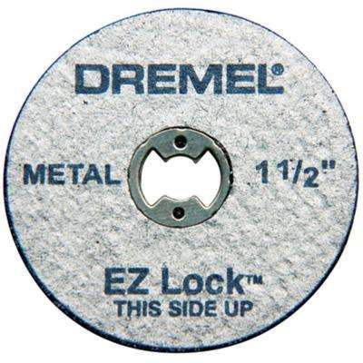 EZ Lock 1-1/2 in. Metal Cut-Off Rotary Wheels for Metal (5-Pack)