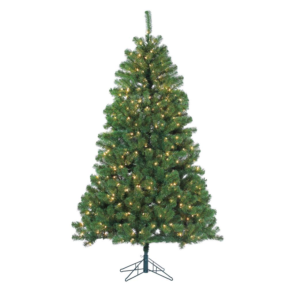 sterling 7 ft pre lit montana pine artificial christmas tree with clear lights
