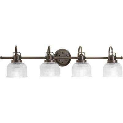 Archie Collection 4-Light Venetian Bronze Bath Light