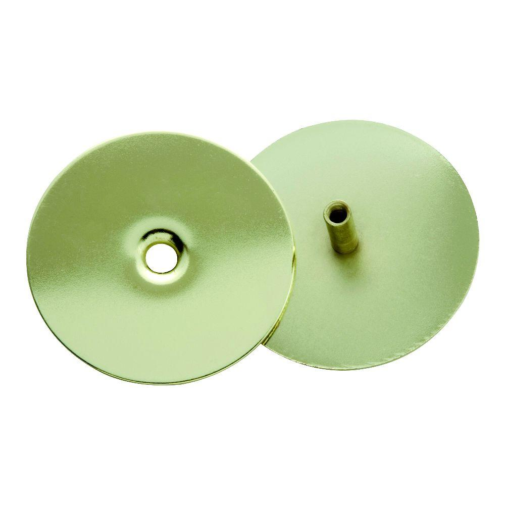 First Watch Security 2-5/8 in. Polished Brass Door Hole Cover