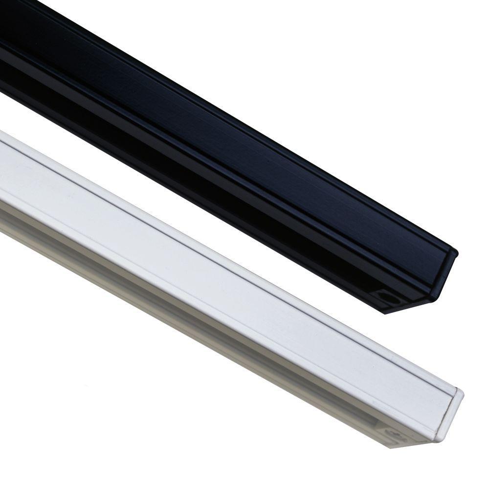 PLC Lighting 4 ft. 1-Circuit White Track