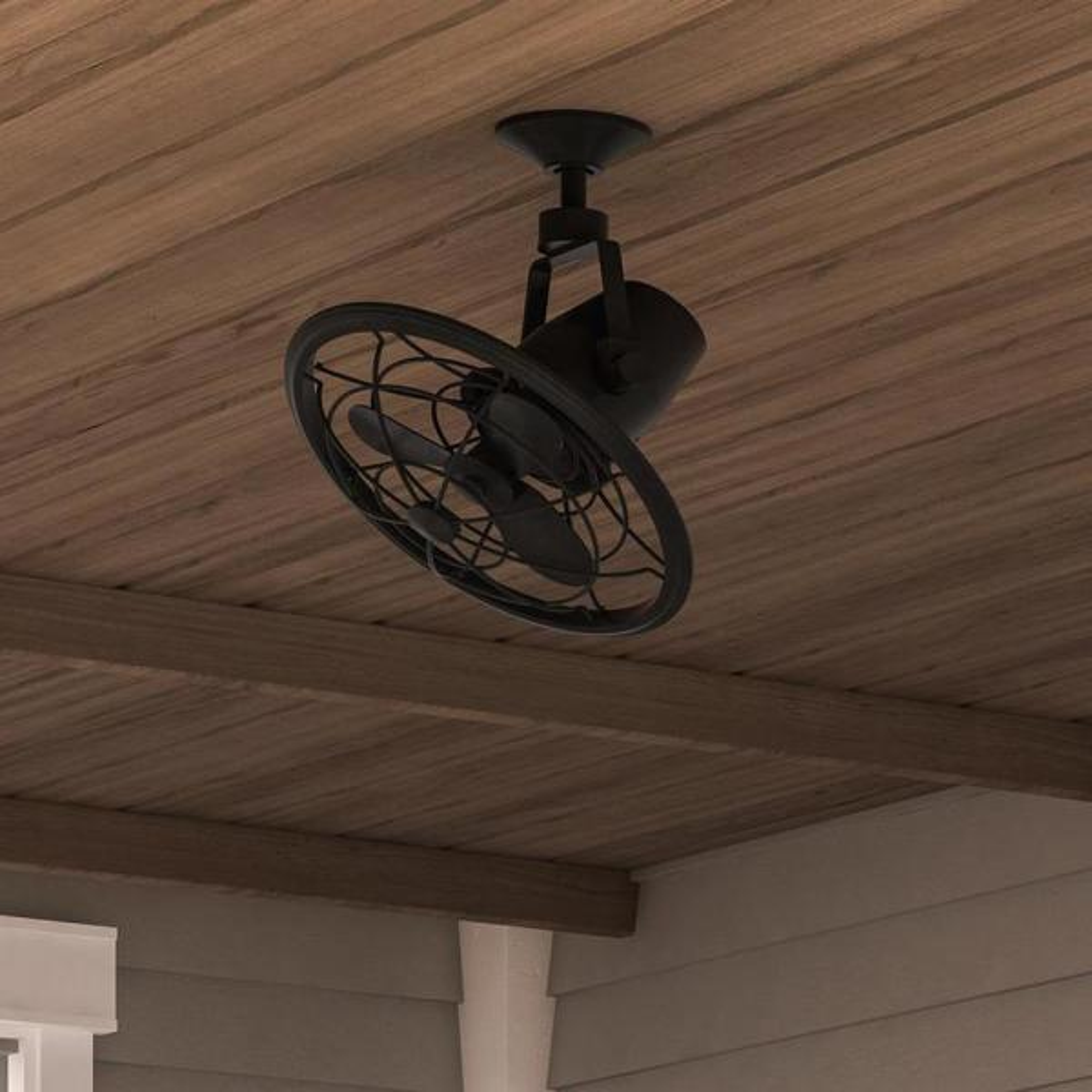 Home Decorators Bentley Ii 18 In Outdoor Natural Iron Oscillating Ceiling Fan Ceiling Fans Home Garden Worldenergy Ae