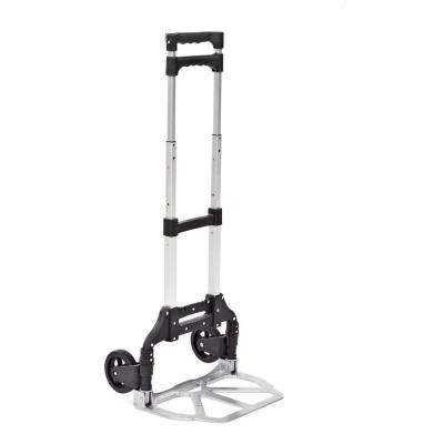150 lbs. Capacity Folding Hand Truck with Push Button