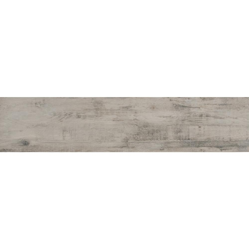 Manorwood Natural 8 in. x 36 in. Glazed Porcelain Floor and