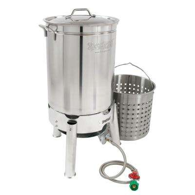 44 Qt. Stainless Boil and Steam Kit