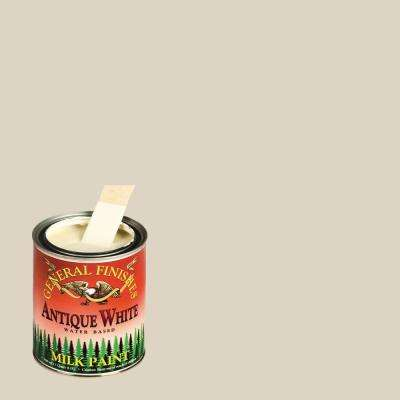 1-qt. Antique White Interior/Exterior Milk Paint