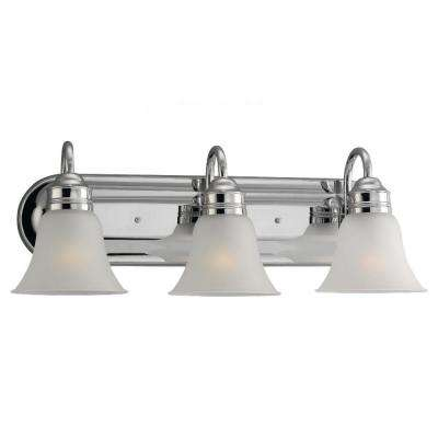 Gladstone 3-Light Chrome Vanity Fixture