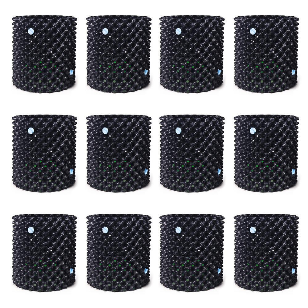 Air-Pot 5 Gal. Equivalent Plastic Garden Propagation Pot Plant Containers (12-Pack)