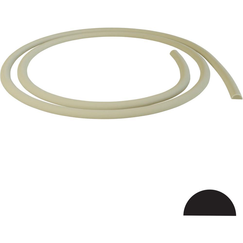 Flex Trim Hd 127 1 2 In X 3 4 In X 144 In Polyurethane Flexible Base Shoe Moulding 90152 The Home Depot