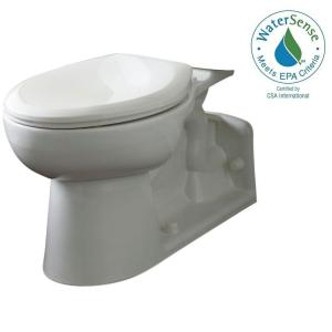 American Standard Yorkville Chair Height Elongated Pressure-Assisted Toilet Bowl Only in White by American Standard