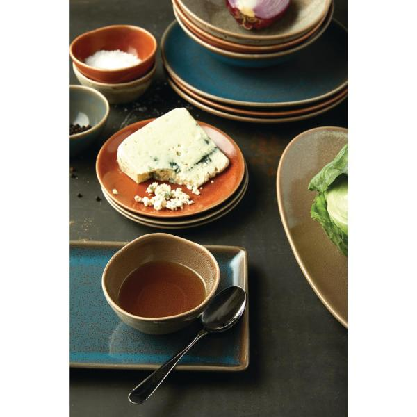 Oneida 11 5 In Cotta Porcelain Coupe Plates Set Of 12 F1493025156 The Home Depot